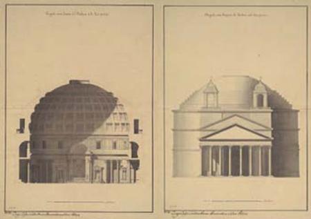 Artisti ii sil sol for Esterno pantheon